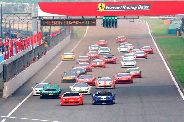 Ferrari Racing Days в Сочи